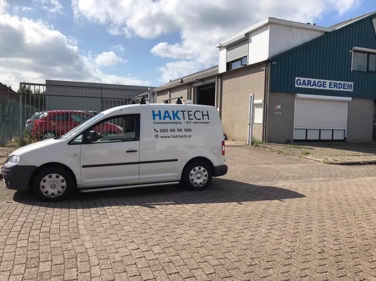 Garage Erdem is beveiligd door HAKTECH!