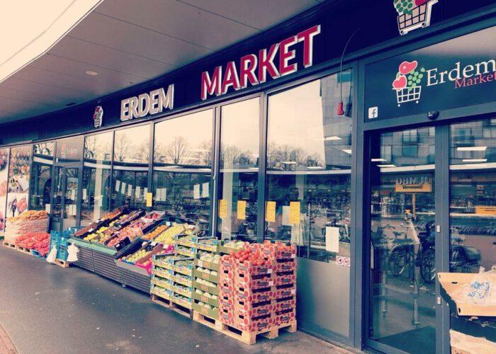Opslag van Erdem supermarkt in Zwolle is beveiligd door HAKTECH!